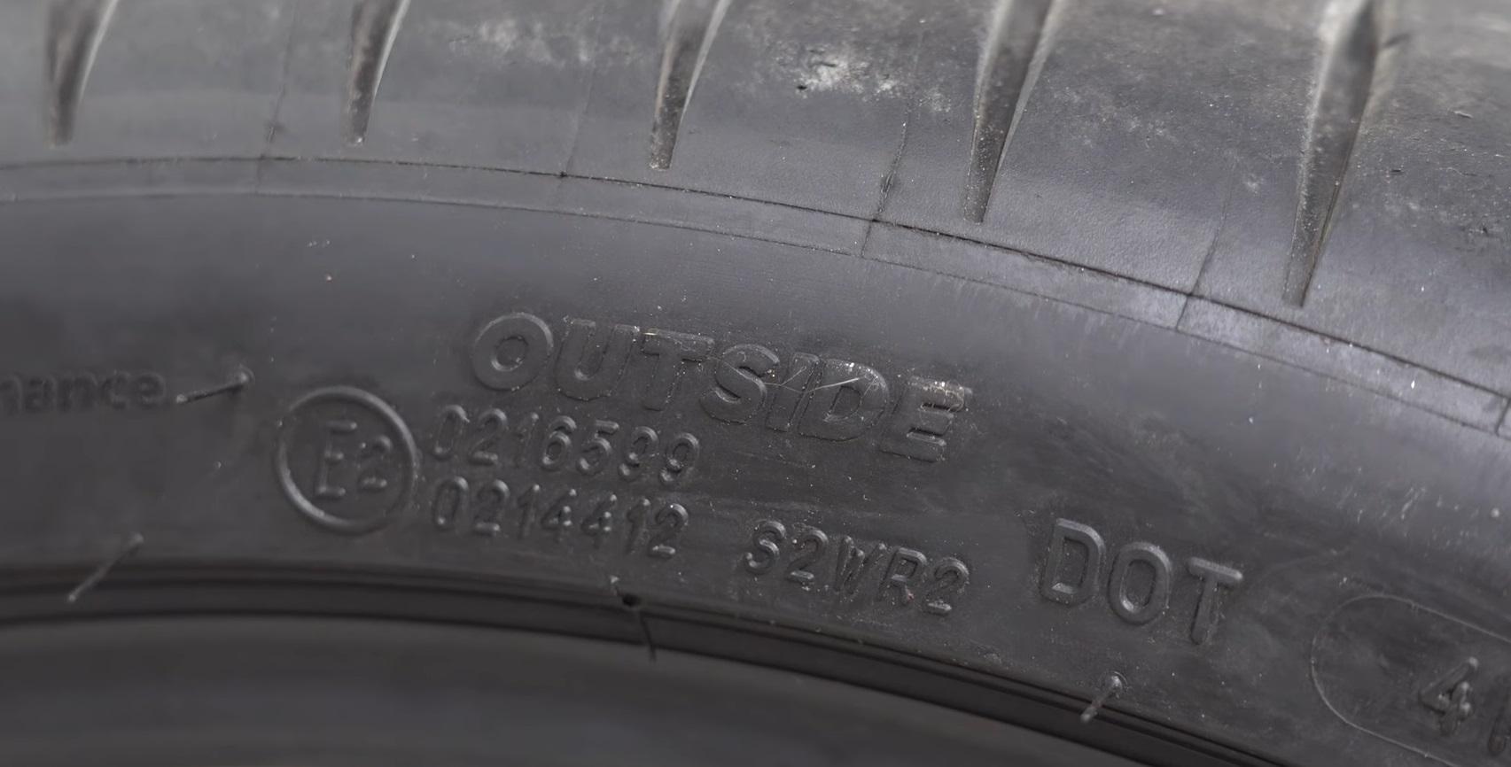 thông số lốp ô tô